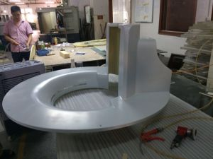 CNC Machining Plastic Front Panel for Medical Equipment pictures & photos