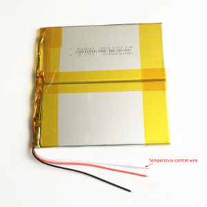 38110114 3.7V 6000mAh Lithium Polymer Battery for Pad GPS PSP DVD Power Bank Nootbook Laptop pictures & photos