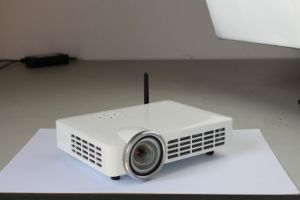 Airplay Miracast 4: 3/16: 9 Format LCD Full HD Movie Home Office Portable LED 3D Projector pictures & photos