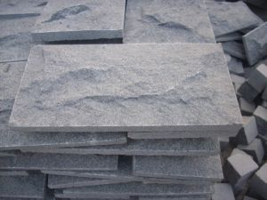 G654 Grey Granite Mushroom Stone Wall Cladding/Covering/Veneer pictures & photos