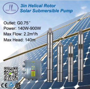 3inch Helical Rotor DC Solar Pump for Irrigation, Deep Well Pump pictures & photos