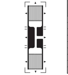 Half Bridge Metal Foil Strain Gauge GB for Load Cell Applicaiton pictures & photos