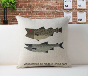 MOQ: 10pieces, Custom Printing Cushion, Cushion Cover, Bolster, Back Pillow pictures & photos