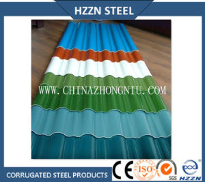 Ral Color Prepainted Corrugated Roofing Sheets pictures & photos