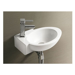 Modern Design Ceramics Wall Hung Sink for Project pictures & photos