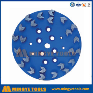 Turbo Diamond Grinding Cup Wheels for Concrete Floor pictures & photos