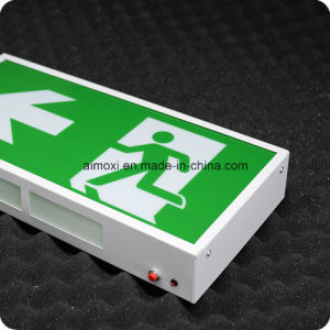 Europe Standard Exit LED Emergency Light Exit Sign pictures & photos