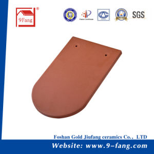 Fish Scale Type Colorful Roofing Tile Cearmic Roof Tiles Decoration Material pictures & photos