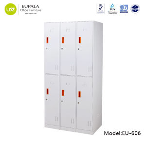 6 Door Steel Locker for Office Staff pictures & photos