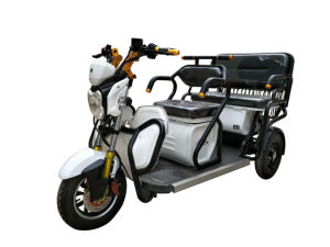 Top Quality 500W 60V 3 Wheel Electric Rickshaw Tricycle pictures & photos