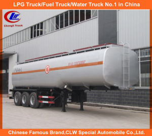Tri-Axle Oil Tank Trailer 45000liters Fuel Tank Semi Trailer with Q345r pictures & photos