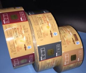 The Automatic Package Snacks Pouch Film Roll Film pictures & photos