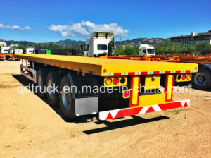 Cimc Trailer, 40FT flatbed trailer, Container Trailer pictures & photos