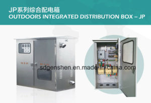 Jp-03 Outdoor Stainless Steel Water-Proof IP 56 Integrated/Comprehensive Distribution Box with Compensation/Control/Terminal/Lightning Function pictures & photos