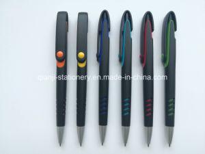 Black Promotion Plastic Ball Pen (P1001C) pictures & photos
