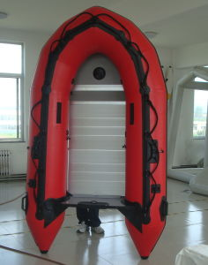 Inflatable Boat with Plywood Floor (FWS-A230) pictures & photos