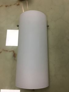 B20-739 White Frosted Acrylic Shade Simply Style Wall Lamp
