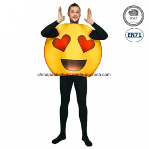 Emoji Funny Face Carnival Cartoon Party Costume for Men (CPGC70015X) pictures & photos