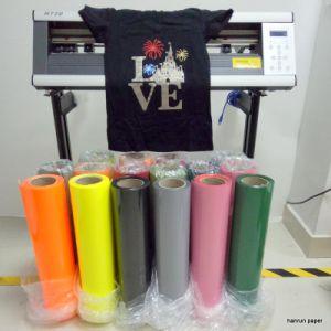 Easy Cut Vivid Color Heat Transfer Film / Vinyl Width 50 Cm Length 25 M for Cotton pictures & photos