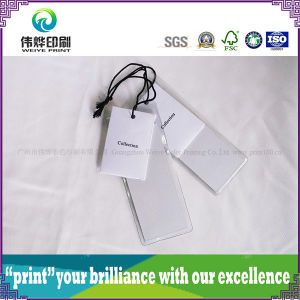 High Quality Paper Printing Hang Tag (2 in 1) pictures & photos