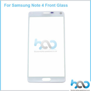 Best Quality Mobile Phone Glass Lens for Samsung Note4 Front Assembly
