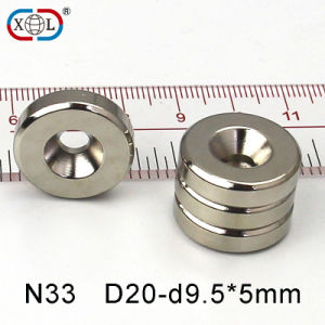 D20mm Screw Hole Strong Magnet pictures & photos