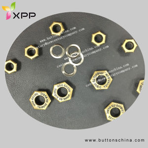 Sexangle Eyelet Metal Button Hot Sales pictures & photos