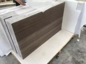 Coffee Wooden Marble, Marble Tiles and Marble Slabs pictures & photos