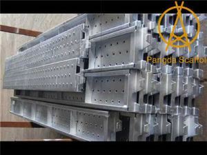Galvanized Steel Plank for Scaffolding System pictures & photos
