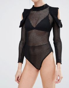 Fishnet Hollow Porous Mesh Fabric Newest Design Fashion at Low Cost Small MOQ pictures & photos