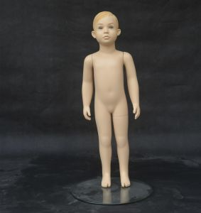 Realistic Children Mannequin for Clothing Display