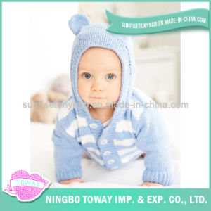 Hand Knitting Cotton Baby Girl Fashionable Wool Sweater pictures & photos