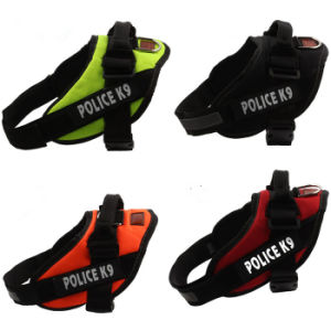 Design Police K9 Training Pet Harness Outdoor Dog Leads pictures & photos