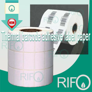 Alcohol Proof Water Resistant Thermal Labels Synthetic Paper Jumbo Roll pictures & photos