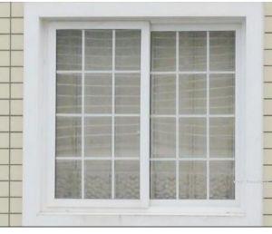 Double Glazing Aluminum Sliding Window /Aluminium Windows with Grils pictures & photos