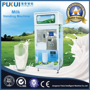 Best Choice Coin Operated Ce Approved Fresh Milk Vending Machine pictures & photos