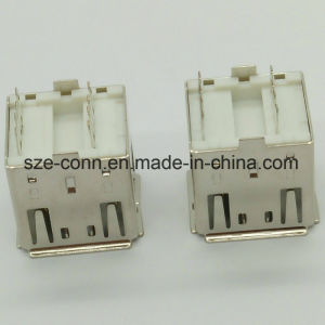 Stack &Double USB 2.0 a Type Female Solder Connector pictures & photos