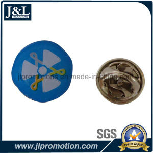 Customer Logo Stainless Iron Printing Lapel Pin pictures & photos