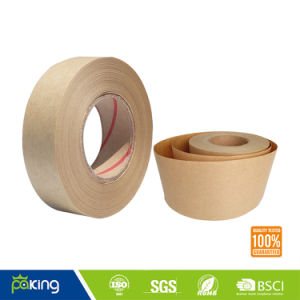 Hot Melt Coated Fiber Kraft Paper Tape with Competitive Price pictures & photos