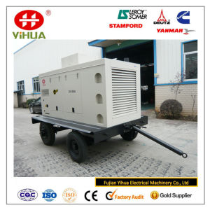 Mobile Trailer 150kVA/120kw Cummins Portable Silent Diesel Generator pictures & photos