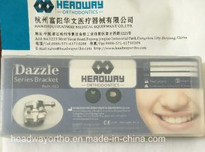 High Quatity Dazzle Series Roth Orthodontic Bracket Ce FDA pictures & photos