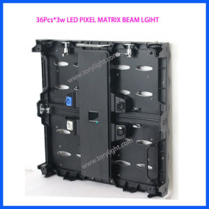 Stage Gold LED Matrix 36*3W Blinder Night Club Beam Panel pictures & photos