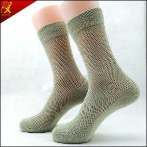 Black Business Cotton Socks Men pictures & photos