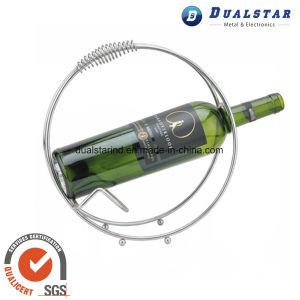 Stainless Steel Circular Portable Wine Rack