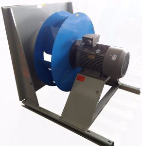 Backward Curved Steel Impeller Cooling Ventilation Exhaust Centrifugal Blower (225mm) pictures & photos