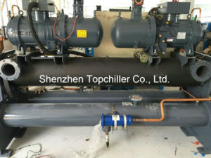 75ton Water Cooled Bitzer Compressor Chiller Shell and Tube Heat Exchanger pictures & photos