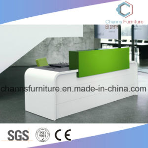 Modern Green Hotel Table Reception Desk Office Furniture pictures & photos