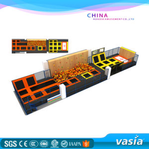 2016 Vasia Customized Made Trampoline Indoor Trampoline Park with Vs6-161026-33 pictures & photos