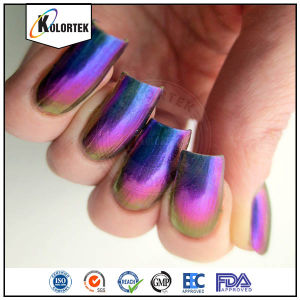 Chrome Pigment Powders, Chromashift Pigment for Nail Polish pictures & photos