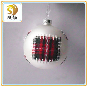 Decorate Handmade Christmas Glass Ball pictures & photos